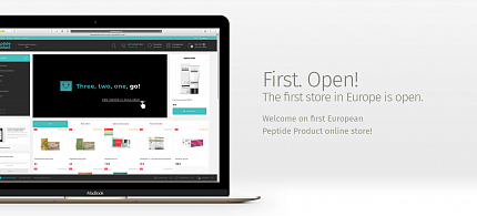 Official online store opening in Europe — Peptide Product