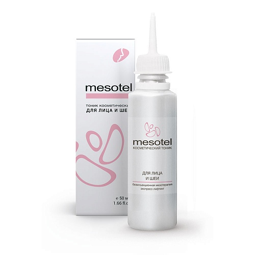 Mesotel for face and neck