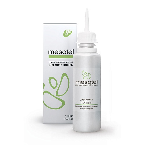 Mesotel for hair and scalp